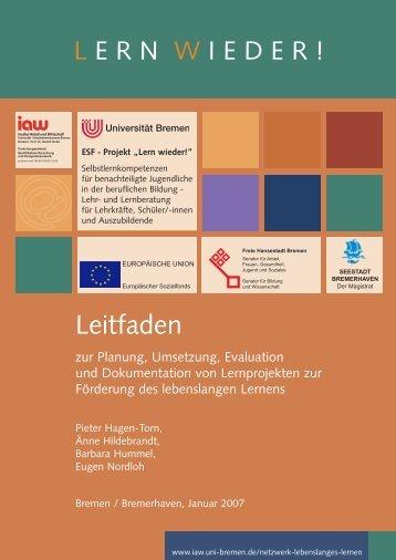 Leitfaden - am Institut Arbeit und Wirtschaft - Universität Bremen