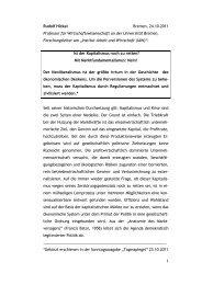 Tagesspiegel Kapitalismus - am Institut Arbeit und Wirtschaft ...