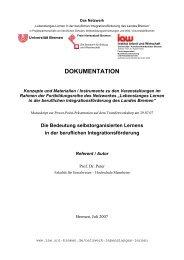 Manuskript - am Institut Arbeit und Wirtschaft - Universität Bremen