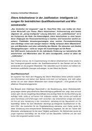 ältere arbeitnehmer in der jobrotation.pdf - am Institut Arbeit und ...