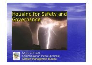 Housing for Safety and Governance - IAWE International ...