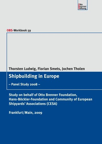 Shipbuilding in Europe - Otto Brenner Shop