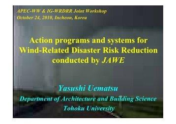 Japan - IAWE International Associations for Wind Engineering