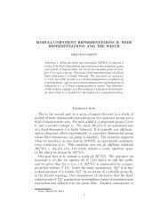 View - Institut für Algebra, Zahlentheorie und Diskrete Mathematik ...