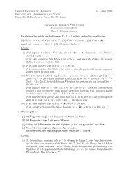 Lösung 1 - Leibniz Universität Hannover