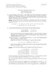 Lösung 4 - Leibniz Universität Hannover