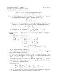 Lösung Klausur 1 - Leibniz Universität Hannover