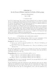 Addendum to: On the Navarro-Willems conjecture for blocks of finite ...