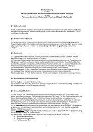 Studienordnung [PDF] - Institut für Algebra, Zahlentheorie und ...