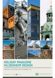 HOLIDAY MAGAZINE HILDESHEIM REGION - Hi-Reg