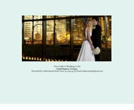 Hyatt Regency Chicago Wedding Packet DSB - Hyatt Hotels and ...