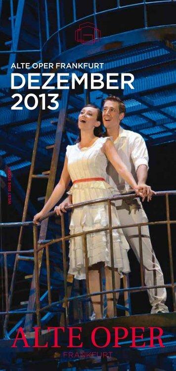 DezemBer 2013 - Alte Oper Frankfurt