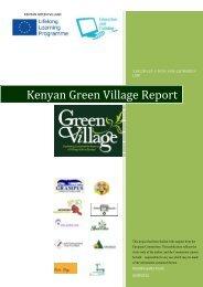 Kenyan Green Village Report - ADAM - Leonardo da Vinci Projects ...