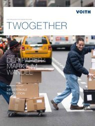 TWOGETHER TWOGETHER - Voith