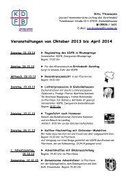 14.09.2013 Herbst-Winter-Programm 2013-2014 - Bistum Hildesheim