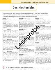 Leseprobe - Calwer
