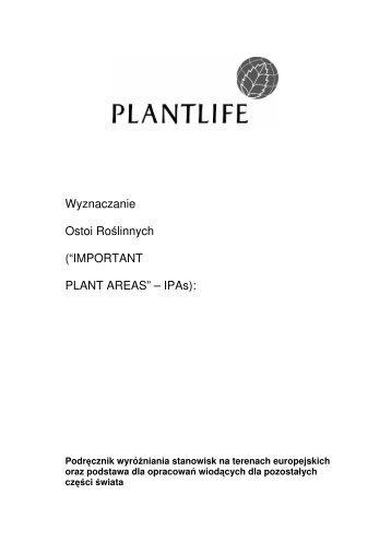 Podręcznik - Instytut Botaniki PAN