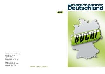 Deutschland - Büchi Labortechnik Gmbh