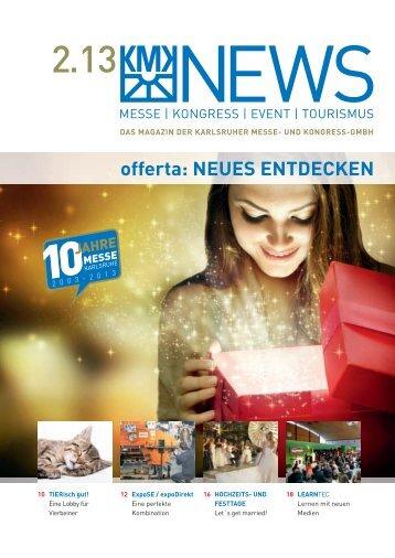 offerta: nEUEs EntdECKEn - Messe Karlsruhe