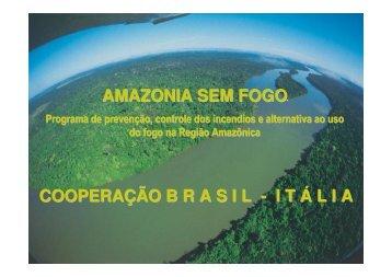 COOPERAÇÃO B R A S I L - I T Á L I A AMAZONIA SEM FOGO - Ibama