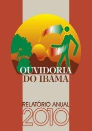 Relatório Anual da Coordenação de Ouvidoria - Exercício ... - Ibama