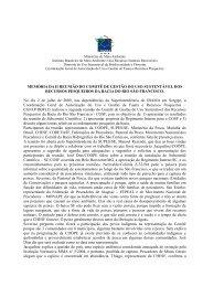 2ª Reunião Ordinária CGSF - Julho/2009 (pdf) - Ibama