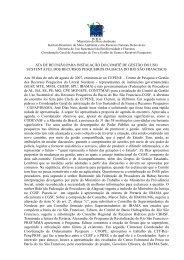 1ª Reunião Ordinária CGSF - Agosto/2007 (pdf) - Ibama