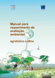 Manual para requerimento de avaliação ambiental: - Ibama