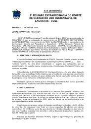 2ª Reunião Extraordinária CGSL - Maio/2009 (pdf) - Ibama