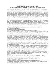 secretaria de defesa agropecuária instrução normativa ... - Ibama