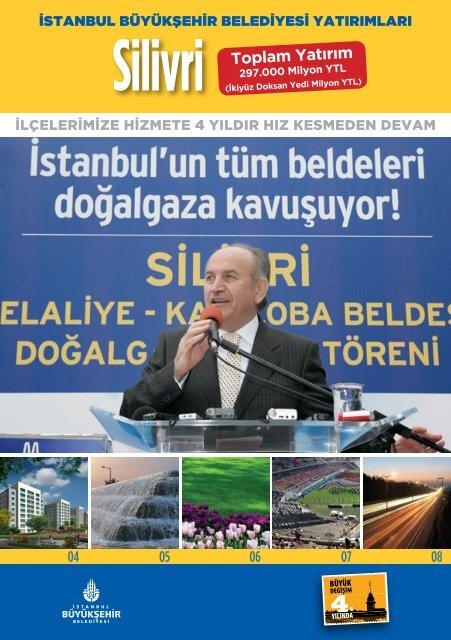 Silivri Toplam Yatırım - İstanbul Büyükşehir Belediyesi