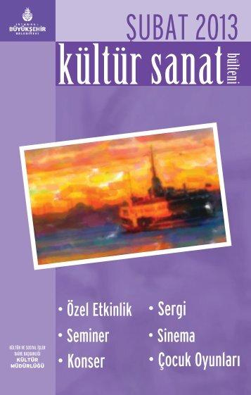 ŞUBAT 2013 - İstanbul Büyükşehir Belediyesi