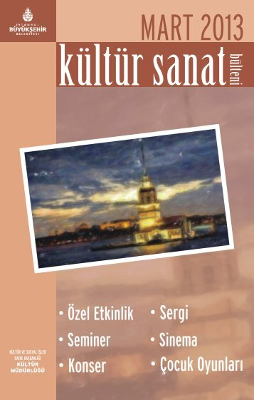 MART 2013 - İstanbul Büyükşehir Belediyesi