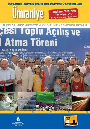 436 Milyon YTL - İstanbul Büyükşehir Belediyesi