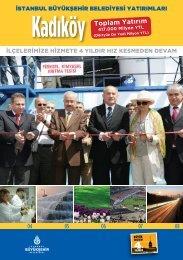Kadıköy Toplam Yatırım - İstanbul Büyükşehir Belediyesi