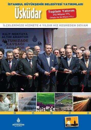 212 Milyon YTL - İstanbul Büyükşehir Belediyesi