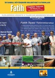 126 Milyon YTL - İstanbul Büyükşehir Belediyesi