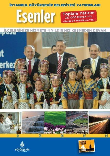 Esenler Toplam Yatırım - İstanbul Büyükşehir Belediyesi