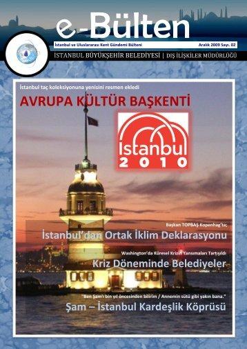 Bülten - İstanbul Büyükşehir Belediyesi