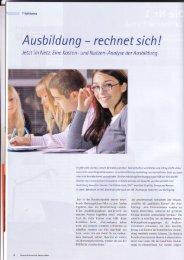 Ausbildung rechnet sich - FG Berufsbildungsforschung (i:BB ...