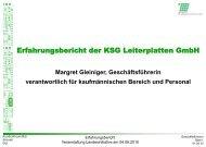 Erfahrungsbericht der KSG Leiterplatten GmbH