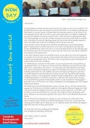 Dank (unterstützte Projekte 2012) - Freunde der Erziehungskunst ...