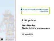 Präsentation Bürgerforum 18. März 2010 - Stadt Ibbenbüren