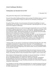 Haushaltsrede Bündnis 90/ Die Grünen - Stadt Ibbenbüren