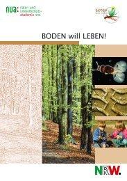 BODEN will LEBEN - und Umweltschutz-Akademie NRW (NUA)