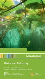 Das Münsterland – Die Gärten und Parks 2013 - Kreis Steinfurt