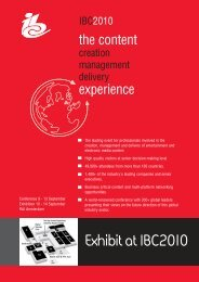 Exhibit at IBC2010