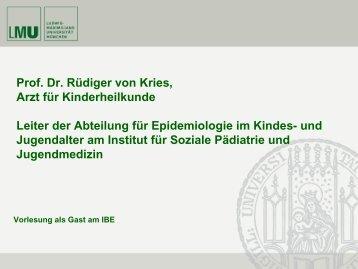 RCT (Prof. von Kries) - IBE
