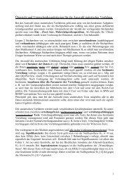 Übersicht und Unterscheidungskriterien für die Auswahl ... - IBE