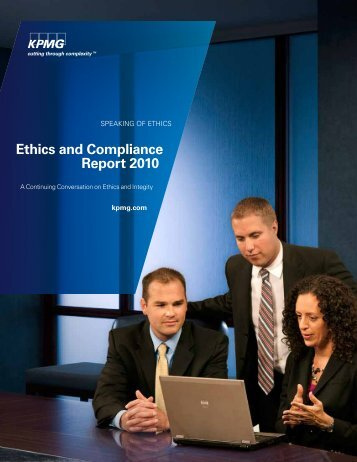 Ethics and Compliance Report 2010 - KPMG